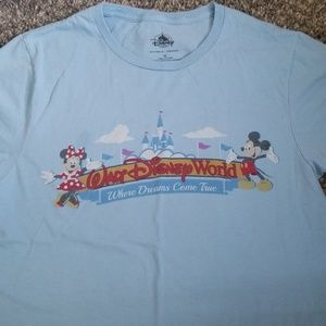 Sky blue Walt Disney World T-shirt